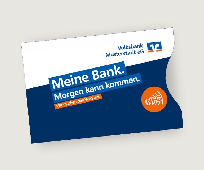 NFC-Schutzhüllen Genossenschaftsbanken