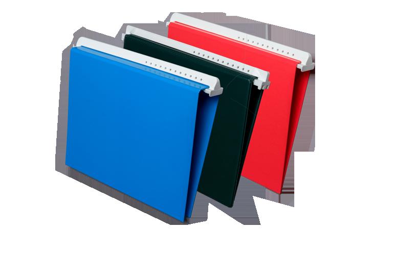 Hängeringbuch aus Kunststoff